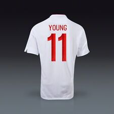 Authentic England Junior Home Shirt 2012- 2013, 'Young 11'   Age: 11-12 Years