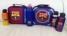 Barcelona Lunch Bag, Barcelona Drinks Bottle Sandwich Bag Picnic Set School Bag