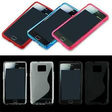 Soft Silicone Rubber Protective Case Cover Skin For Samsung i9100 Galaxy SII S2