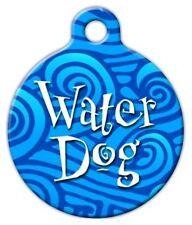 WATER DOG - Custom Personalized Pet ID Tag for Dog and Cat Collars