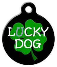 LUCKY O' THE IRISH - Custom Personalized Pet ID Tag for Dog and Cat Collars