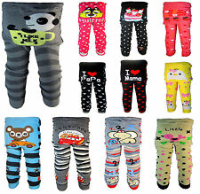 Baby boys girls toddler leggings tights Warmer socks Knitting Cotton PP pants A