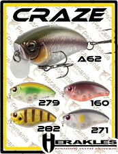 Artificiale spinning hard bait Herakles Zeolite Craze crank 6,6cm 18gr floating