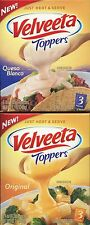 Velveeta Toppers Queso Blanco or Original Cheese Sauce 3 Pouches