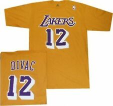 Los Angeles Lakers Vlade Divac Throwback T Shirt