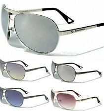 BIOHAZARD  Aviator Mens Ladies Unisex  Sunglasses Black Vintage Retro UV400 New