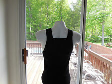 NEW Men's SEXY Gunit Style Tank Top BLACK with BLACK Trim, SIZE: Large, X-Large