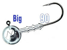Mustad Big Game Jig Heads / size: #12/0 - 15-50g / 20pcs. per pack!