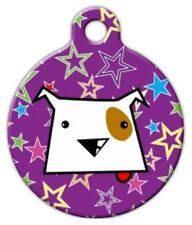 DOG STAR - Custom Personalized Pet ID Tag for Dog and Cat Collars