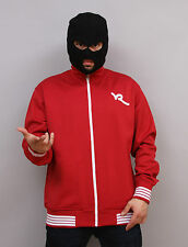 $$ Rocawear Basic Track Jacket Mens Red FREE Shipping $$
