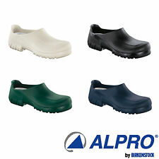 Alpro by Birkenstock Model A 640 Alpro-foam Clogs with steel toe cap REGULAR !