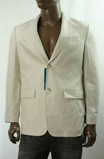 NEW PERRY ELLIS NATURAL LINEN CLASSIC FIT BLAZER JACKET SPORT COAT