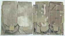 Condor MA4 5.56mm Double Rifle Mag Pouch Magazine Ammo MOLLE ATACS MULTICAM 223