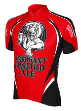 Arrogant Bastard Ale Beer Cycling Jersey by Canari Men's Short Sleeve with Sox