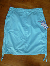 TRESPASS TURQUOISE OR CORAL RED ROUCHE SIDE OPTION BEACH SKIRT S M L XL NEW