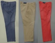 POLO RALPH LAUREN MEN'S BIG & TALL SUN FADED CHINOS TROUSERS NAUTICAL GI FIT