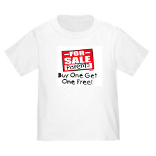 YOUTH KIDS T-SHIRT PARENTS FOR SALE BUY ONE GET FREE (k-434)