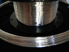 Sterling Silver Round Wire 16 18 20 22 24 26 Gauge .925 Solid Half Hard By Foot