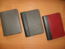 100% Real Genuine Leather Cover Spiral Notebook A6 Cover:REFILLABLE/ Classic