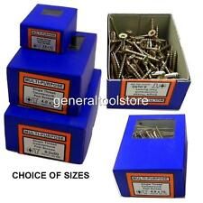 MULTI - PURPOSE WOOD POZI  BOXED 200/100 SCREWS SIZES 3.0 X 10MM UPTO 4.0 X 75MM