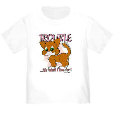 YOUTH KIDS T-SHIRT TROUBLE it's what I live for (k-489)