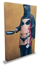 Banksy 'How Do You Like Your Eggs?' LARGE Canvas