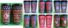 CHOOSE TEAM Set 2 Pack Tumblers 2 Lids Logos 3D Change When Moved New MLB Cups