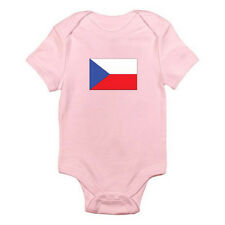 CZECH REPUBLICAN FLAG - Czech Republic / Europe / Fun Themed Baby Grow / Romper