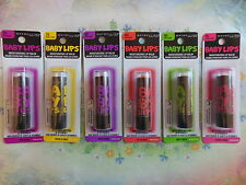 Maybelline Baby Lips Lip Balm Electro Collection Pink Shock YOU CHOOSE Fresh!!