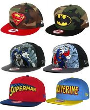 New Era 9FIFTY Cap Superhero Camo NY Batman Superman Snapbacks Strap Back Hat