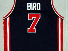 LARRY BIRD TEAM USA JERSEY NEW BLUE - ANY SIZE S - 5XL