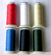 NYLON BONDED STRONG THREAD 500 METRE ( CHOICE OF 15 COLOURS )