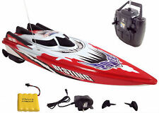 RC Radio Remote Control Racing Speed Boat TWIN ENGINED RECHARGEABLE - NEW MODEL.