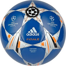 adidas Capitano Finale UCL 2013 - 2014 Soccer Ball Royal / Orange / White New