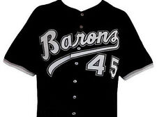 MICHAEL JORDAN BIRMINGHAM BARONS BASEBALL JERSEY BLACK NEW ANY SIZE XS - 5XL