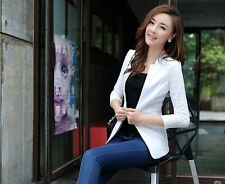 New women's casual sleeve small suit jacket