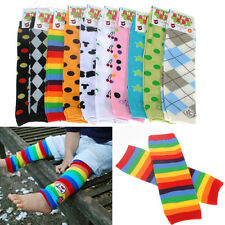 Baby Toddler Boy Girl Long Cotton Legging Tights Arm Leg Warmer Cartoon Sock