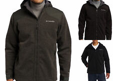 COLUMBIA GRADE MAX HOODED JACKET OMNI-HEAT WIND & SHIELD THERMAL REFLECTIVE HOOD