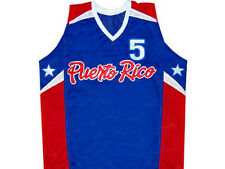 CUSTOM NAME & # JOSE JJ BAREA TEAM PUERTO RICO JERSEY BLUE ANY NAME & # XS - 5XL