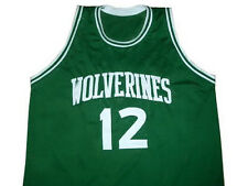 KIRK HINRICH SIOUX CITY WOLVERINE JERSEY GREEN ANY SIZE NEW XS - 5XL