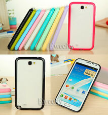 New Colors Hard Rubber Gel Back Case Cover For Samsung GALAXY Note 2 II N7100