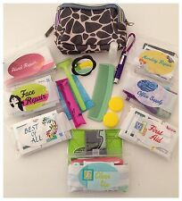 Woman's Four Kit Emergency Everything Purse Travel Bag-Your Choice of 4 Kits