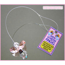 Guardian Angel Crystal Suncatcher Assorted Colours