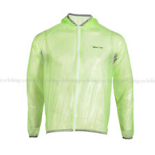 ROCKBROS Tour de France Cycling Wind Coat Rain Coat Fluorescent Green