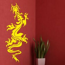 ORIENTAL DRAGON wall sticker chinese flying falling tranfers stickers art decal