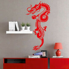 CHINESE DRAGON wall stickers bedroom decal vinyl transfer home design kids decor