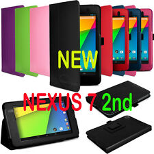 Google NEW NEXUS 7 2nd 2 II 2013 Version Full HD PU Leather Case Cover