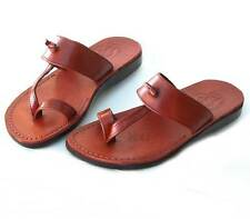 HOLYLAND QUALITY  JESUS  BIBLICAL  LEATHER  SANDALS  WOMEN & MEN SIZE  35 - 46 !