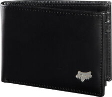 Fox Racing Men's Bifold Leather Wallet Brown Black White Wallets Riders RC SX MX