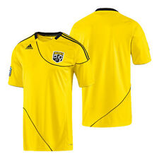 adidas MLS Columbus Crew 2011 - 2012 Home Soccer Jersey Brand New Yellow